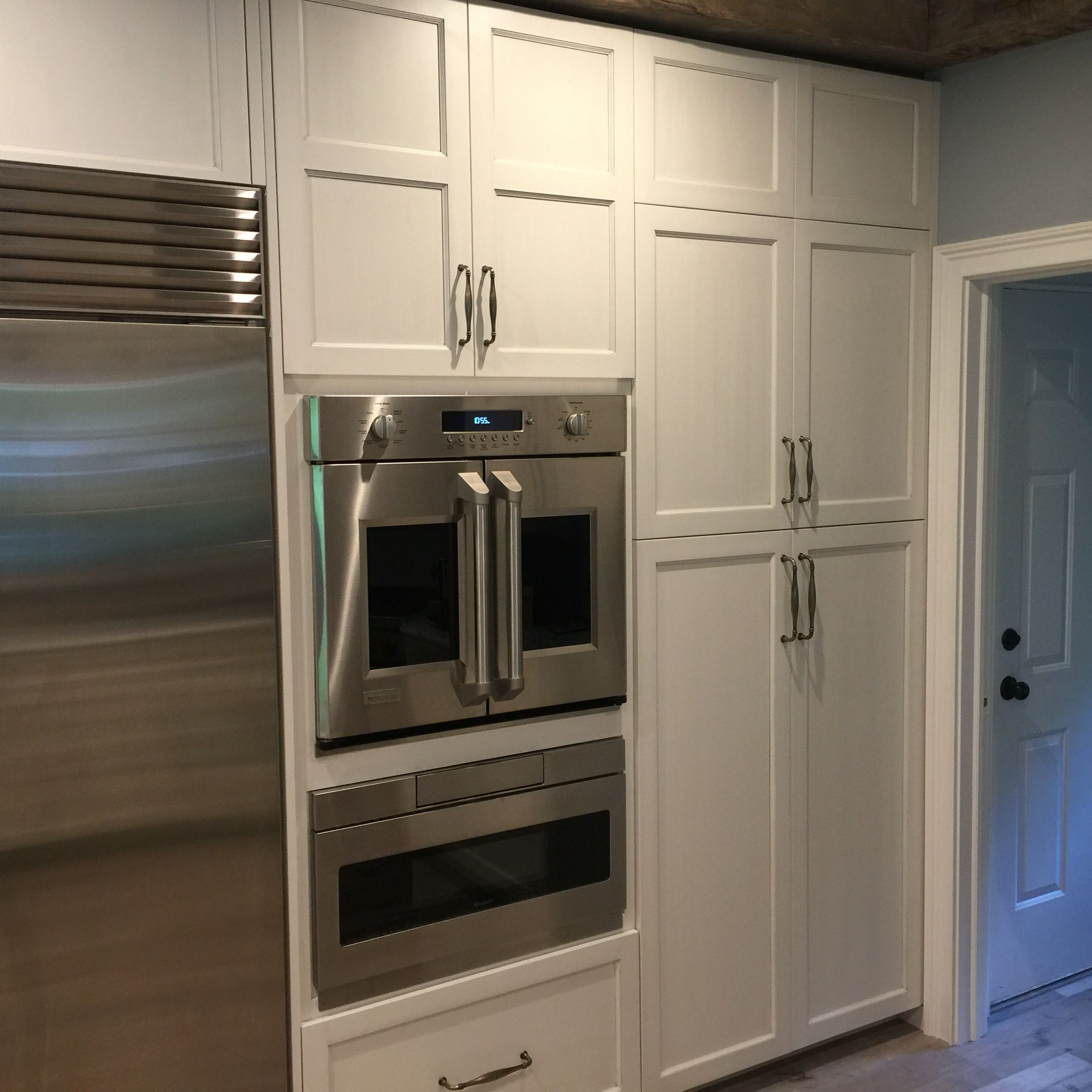 New French Door Oven From Ge With A Drawer Microwave Underneath