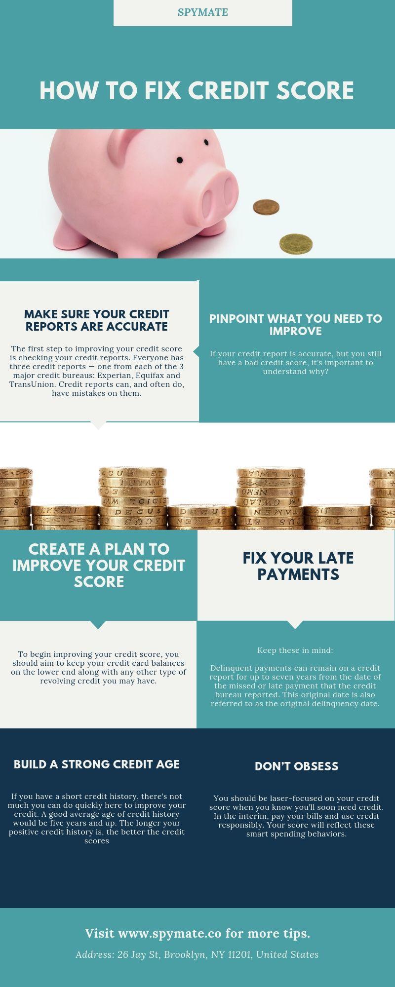 How to fix credit score how to fix credit credit score