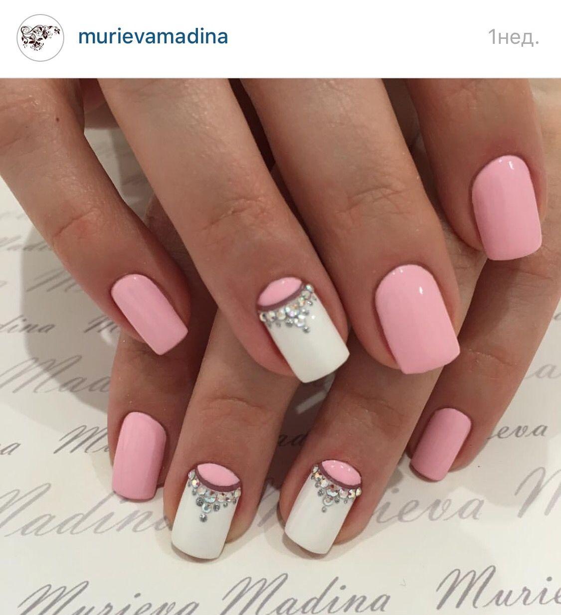 Pin de Mariel Lescano en uñas piedras | Pinterest | Diseños de uñas ...
