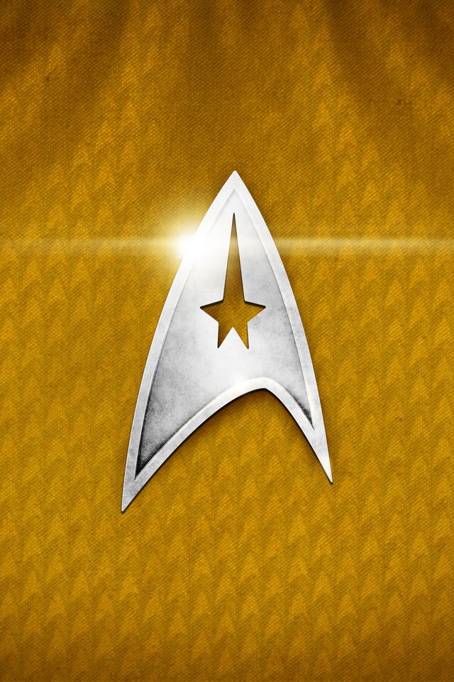 Star Trek iPhone background Star trek logo, Star trek