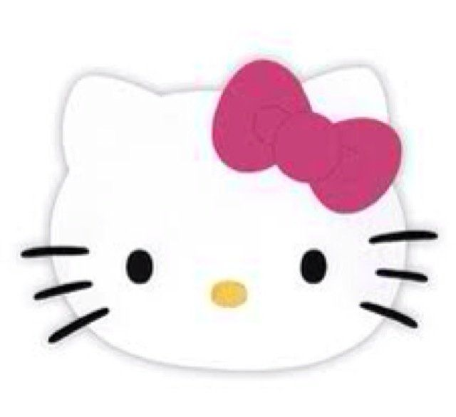 a6be67daa Hello Kitty Head Clip Art | breinne a chico ca | Planning | Hello ...