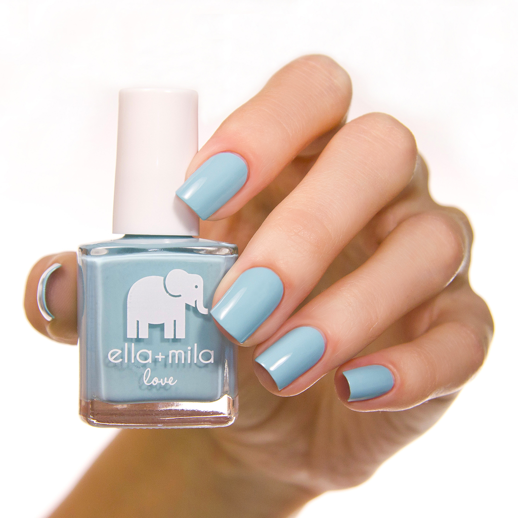 Beach Resort Blue Ella + Mila Nail Polish