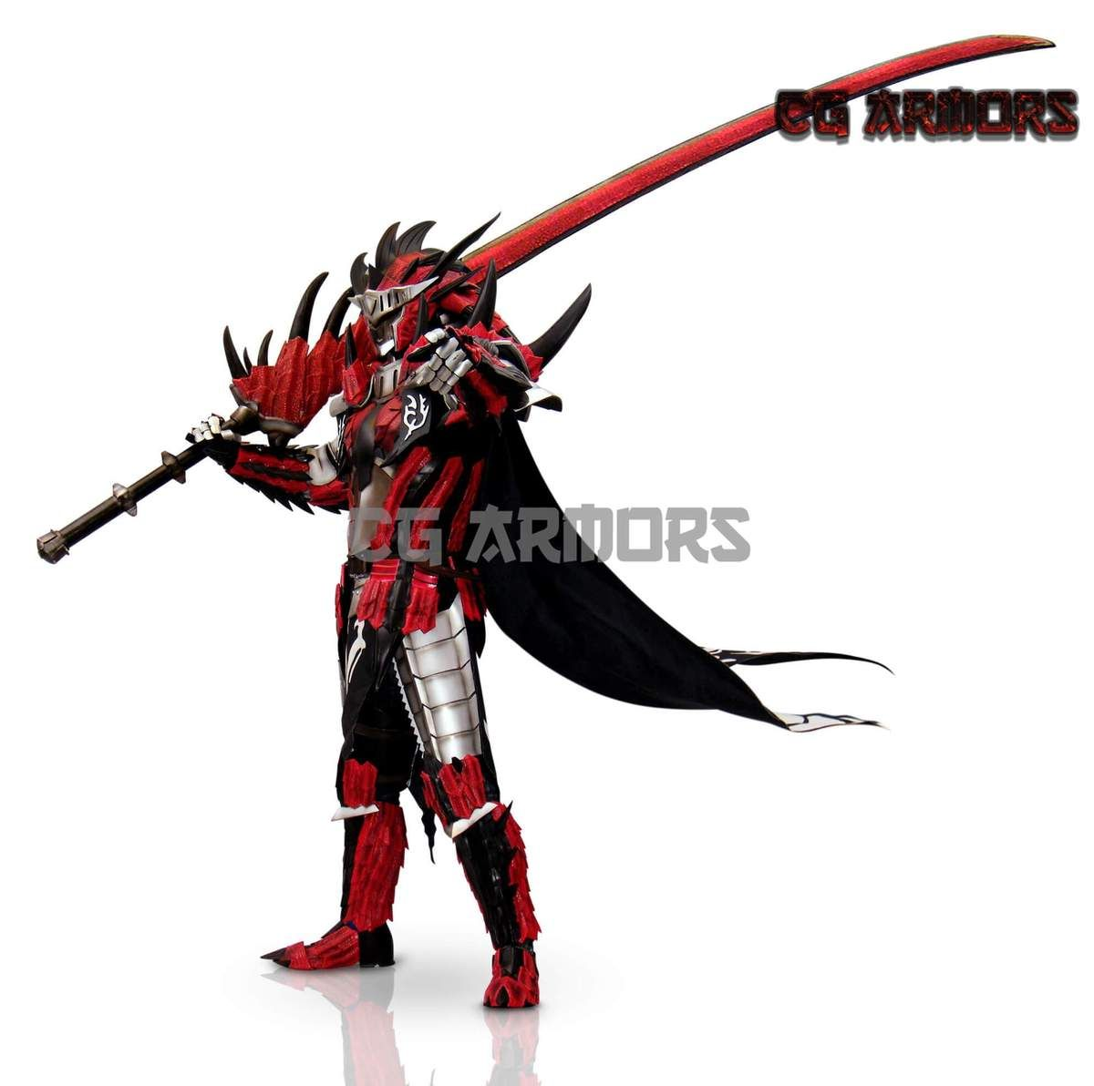 Monster Hunter Aka Liolaeus Rathalos Cosplay Armor Weapon In