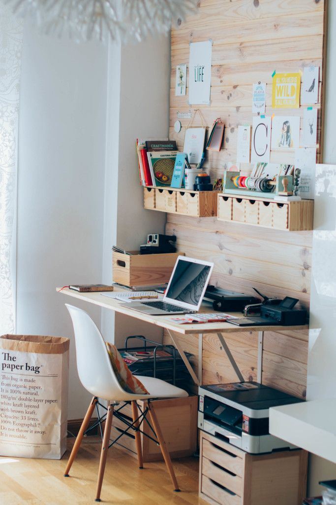 Earthy Chic Worke Of Hadas Y Cuscus Office Tour