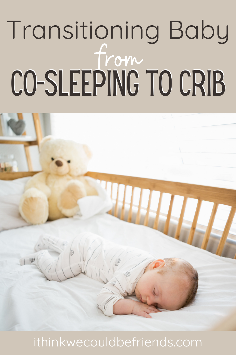 how to put baby to sleep in crib without crying