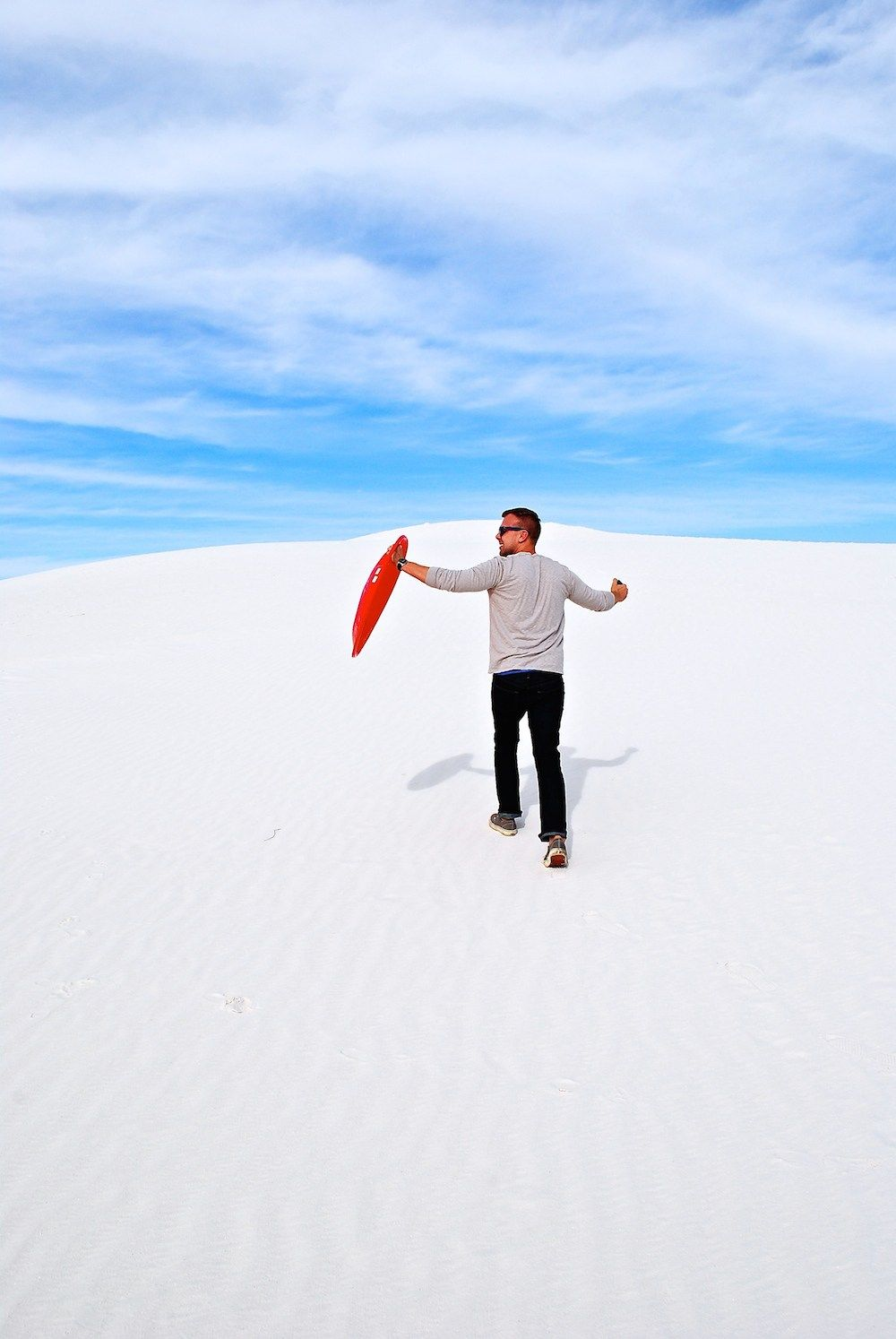 White Sands National Monument New Mexico Exploring The