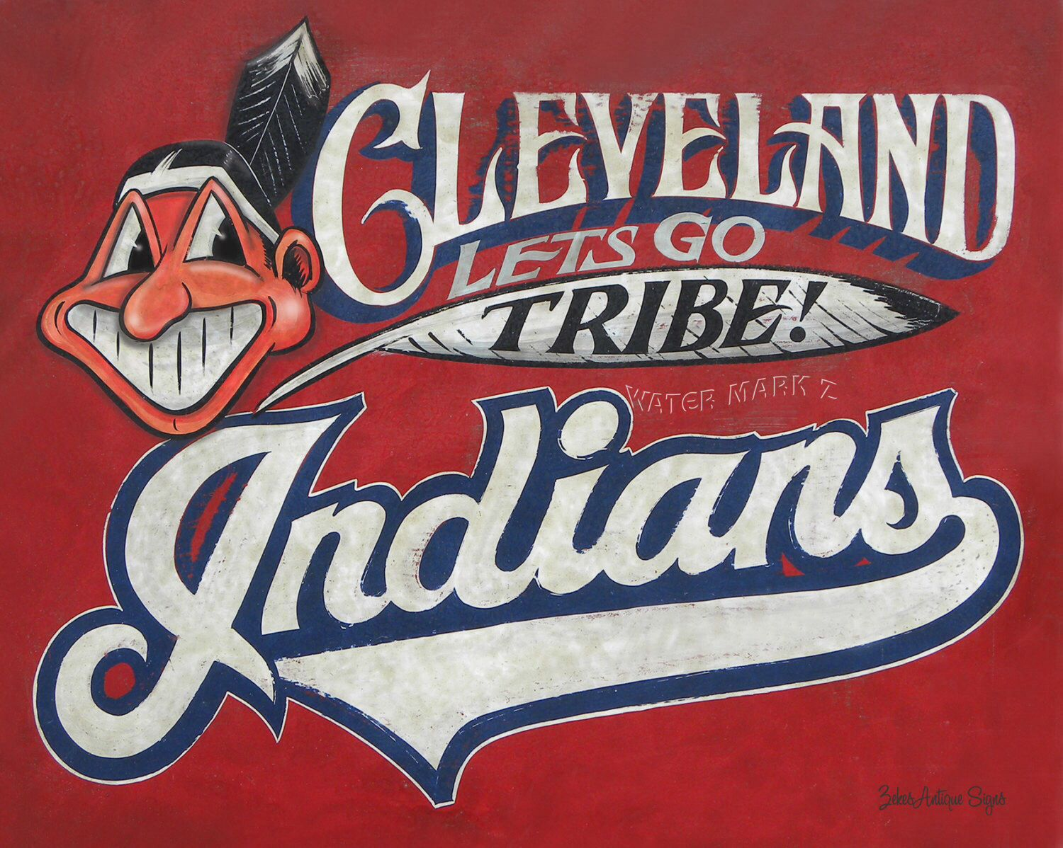 Pin By Evans Custom Woodworking On Cleveland The Best Location In The Nation Cleveland Indians Indians Indians Baseball