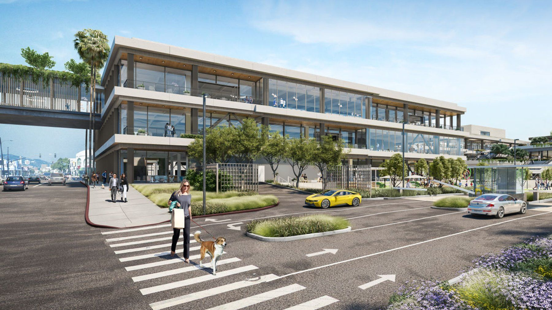 Google Signs 14 Year Lease For A Gigantic New Campus In West La Los Angeles Real Estate Office Space Pavilion