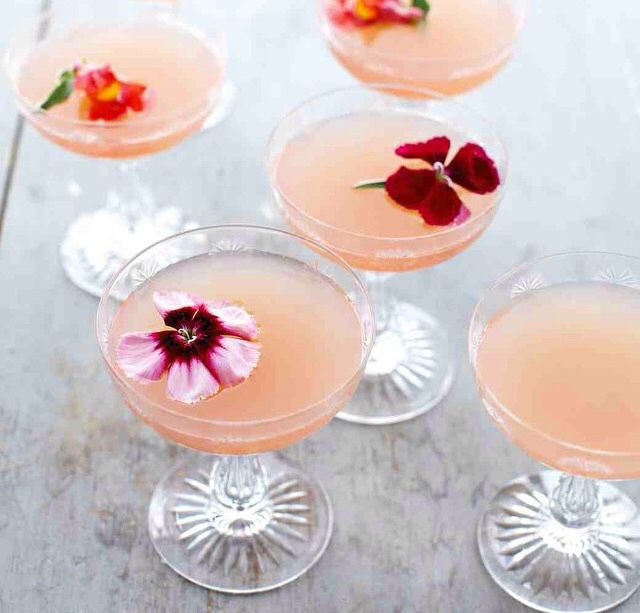 Springtime cocktails