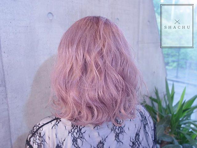 まなみcolor グラデーション ミルキーピンク Hair By Manax X