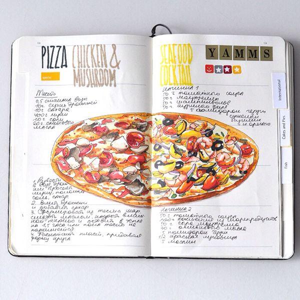 Recipe journal on behance anna rastorgueva pinterest recipe journal on behance forumfinder Gallery