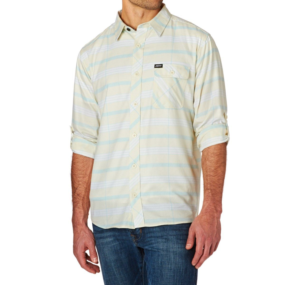 34bcf859a3 Men s Jetty Shirts - Jetty Piper (Eggshell) Shirt - White ...
