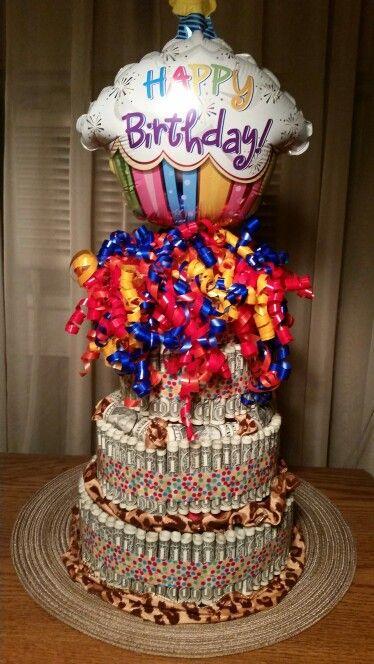 90th Birthday Money Cake Money Cake Birthday Money
