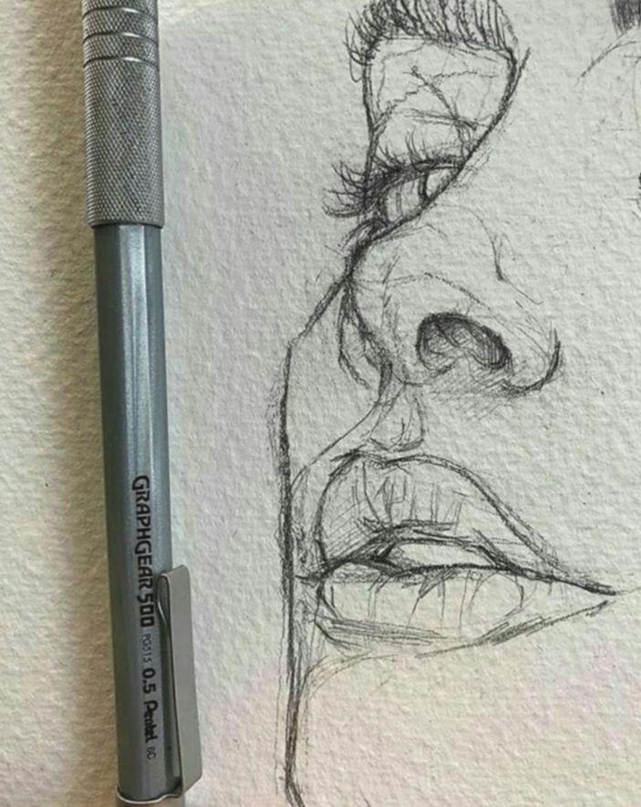 Pin on sketchbook drawings