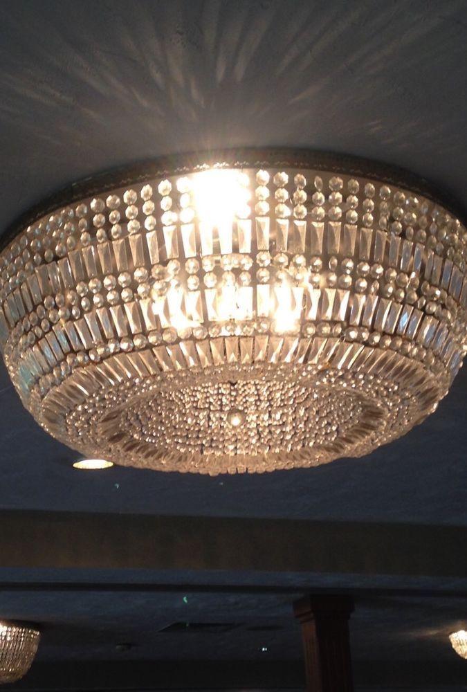 Large 4ft diameter flush mount crystal chandelier ebay gladys large 4ft diameter flush mount crystal chandelier ebay mozeypictures Gallery