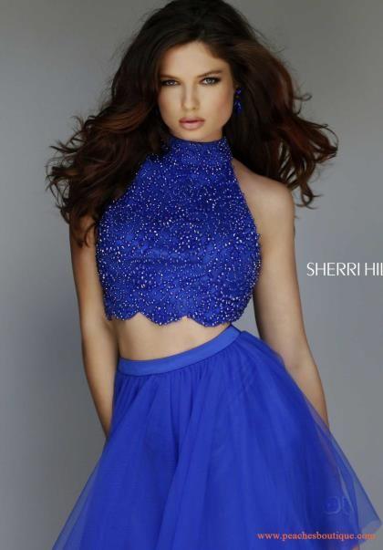 Short Halter Top Dresses
