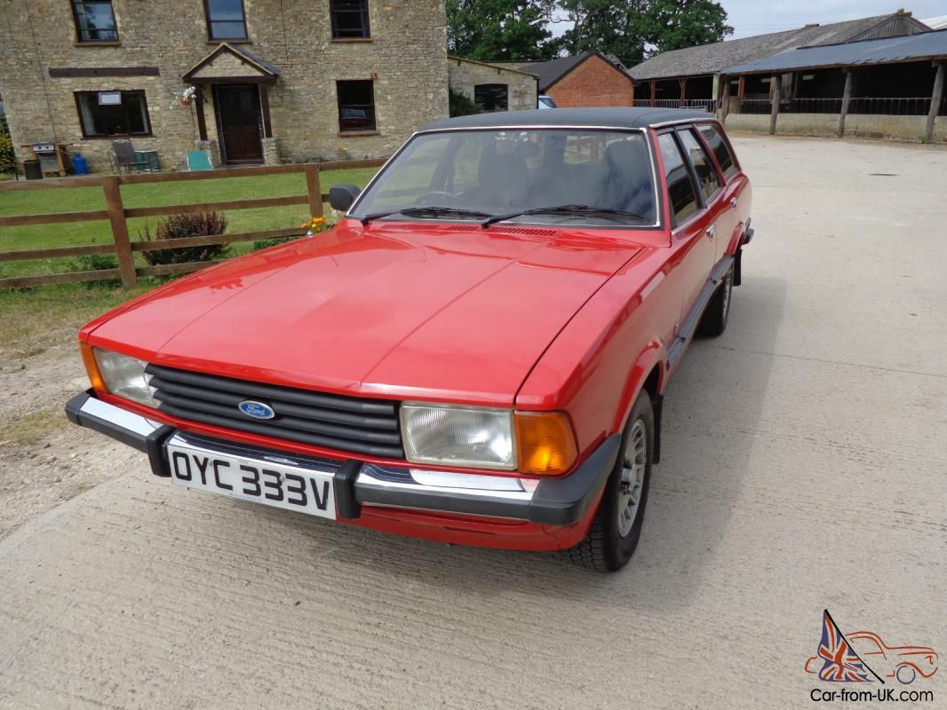 Ford Cortina Estate Mk 5 2 3 Ghia Ford Station Wagon Car Ford