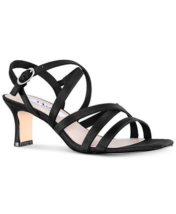 Nina Genaya Strappy Evening Sandals & Reviews - Heels & Pumps - Shoes - Macy's 1