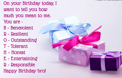 funny birthday quotes for younger brother Birthday