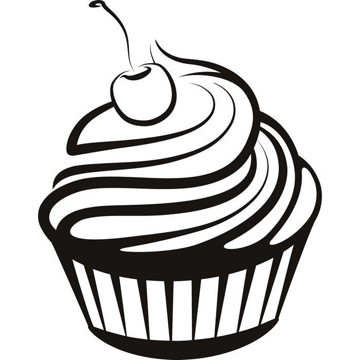 dibujos de cupcakes para colorear - Buscar con Google | Cupcakes ...