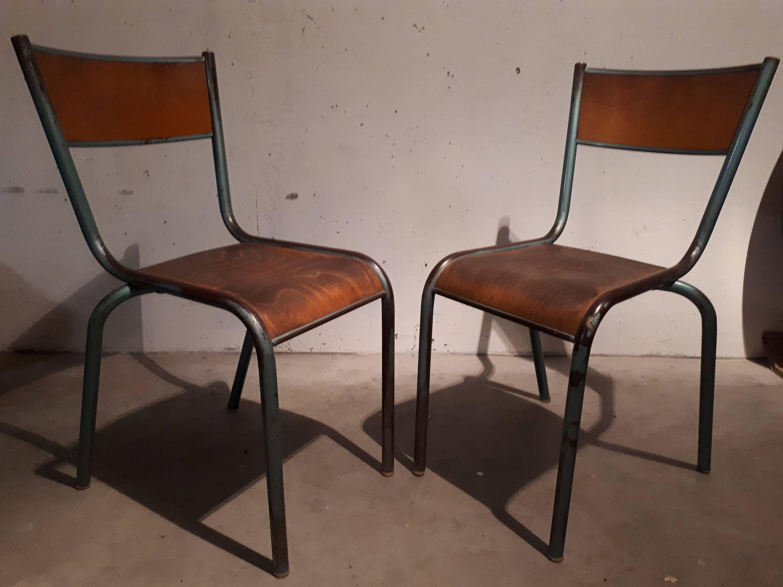 Chaise D École Mullca chaises d'école mullca de la boutique arnaudveylon sur etsy