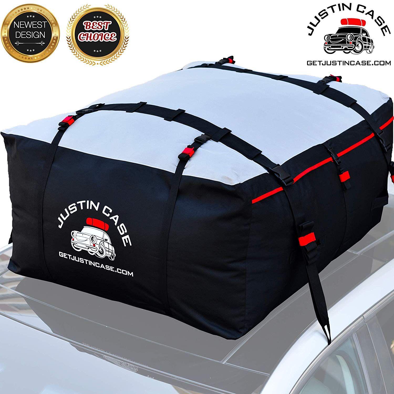 Roof Bag Car Top Carrier 19 Cubic Feet – Heavy Duty