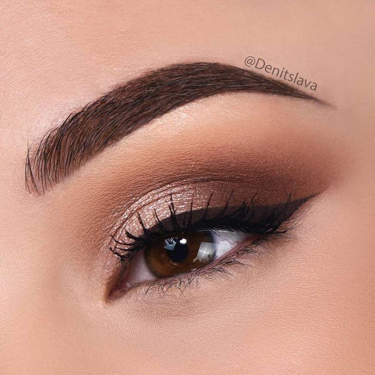 Un gros plan du maquillage des yeux que j'ai fait dans ma dernière vidéo YouTube link (li...