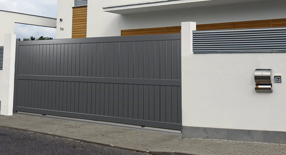 sliding gate   Entrance gates design, Main gate design ...