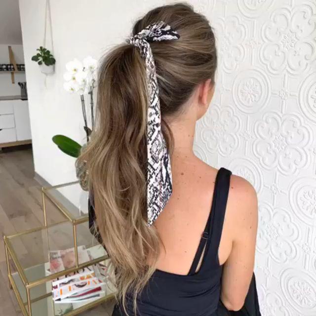 Ponytail Hair Style