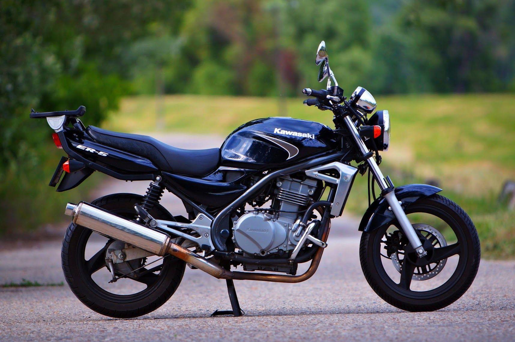 kawasaki er 5 motorok motorbikes motorcycles pinterest. Black Bedroom Furniture Sets. Home Design Ideas