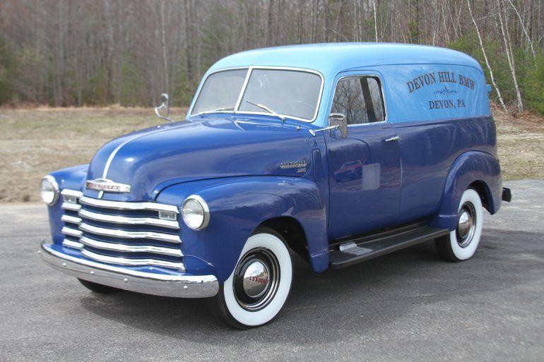 1949 Chevrolet 3100 Panel Truck For Sale 1736363 Panel Truck Pickup Trucks Classic Trucks
