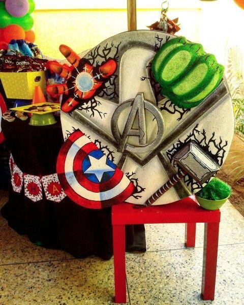 Piñata De Los Vengadores The Avengers Party En 2019