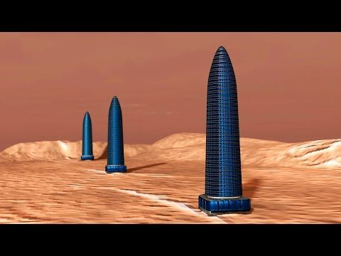 Row Of Alien Towers Found On Mars 12/7/16 - YouTube