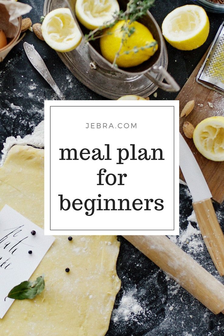 How to Meal Plan & Prep For Beginners images
