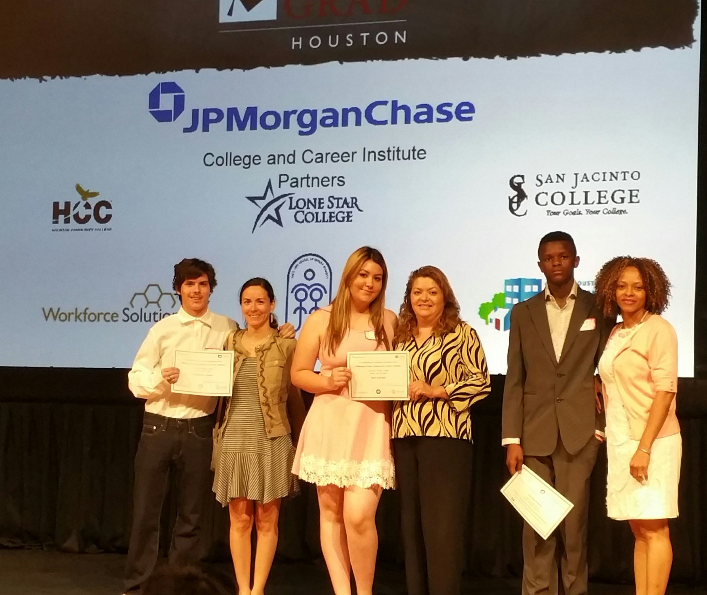 Last Night At The Jpmorgan Chase College And Career Institute Lone Star College Cyfair Closing Ceremony Three Cypress Lake High School Ninth Grade Hcc College