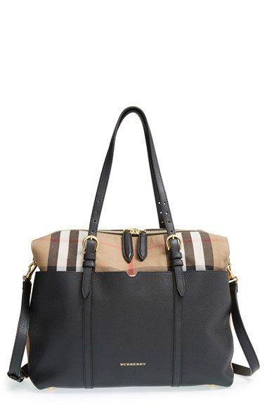 f1b4a31fe65f Dreamy diaper bag.... Burberry  Mason - House Check  Diaper Bag ...