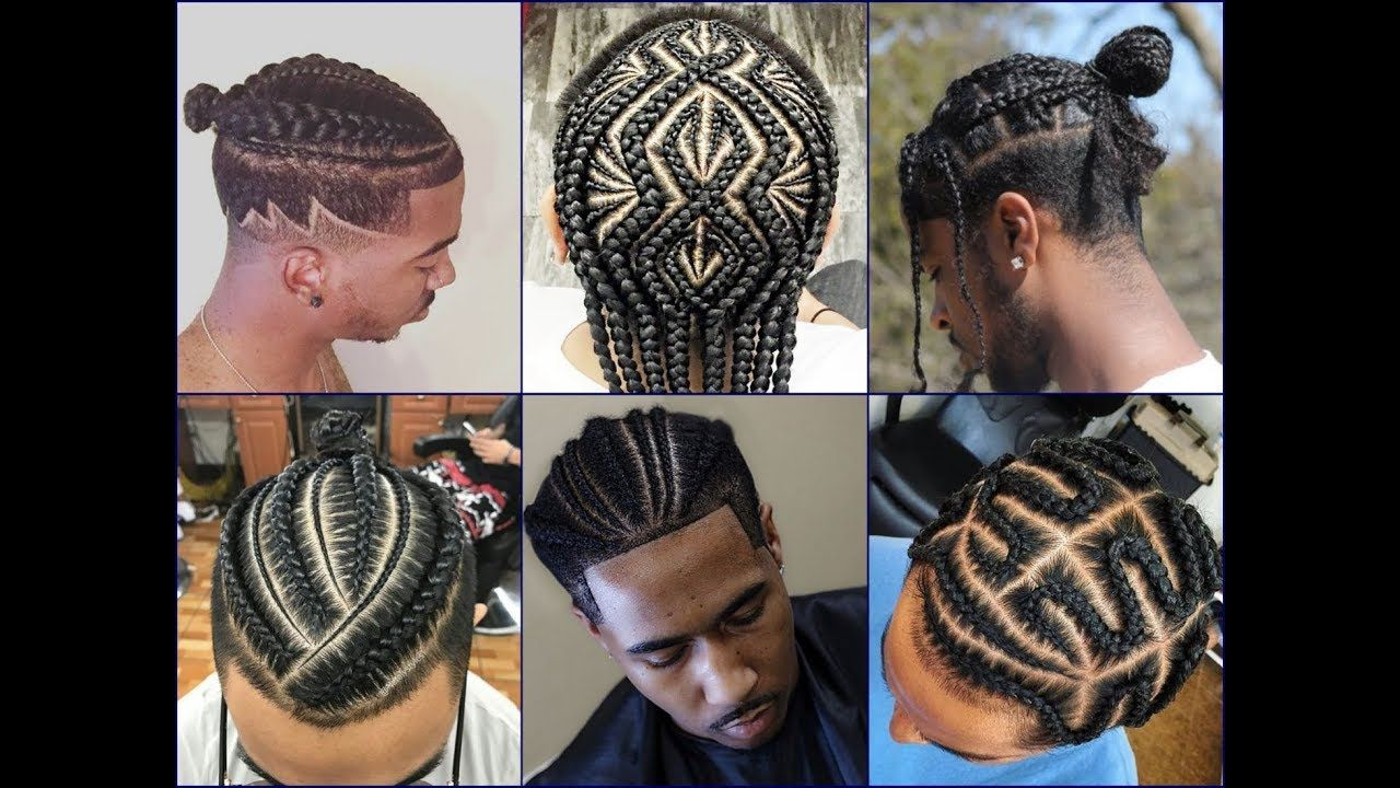 Top 30 Cool African American Men S Braids Hairstyles 2018 New Braided Hairstyles Cool Braid Hairstyles Mens Braids Hairstyles