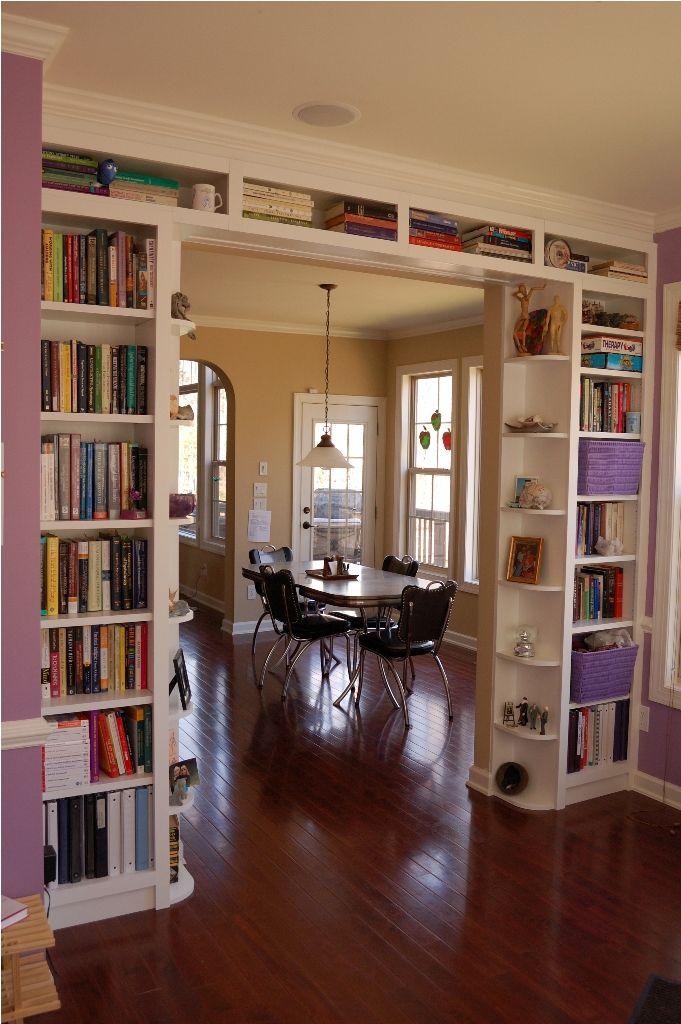Lovely bookshelf idea