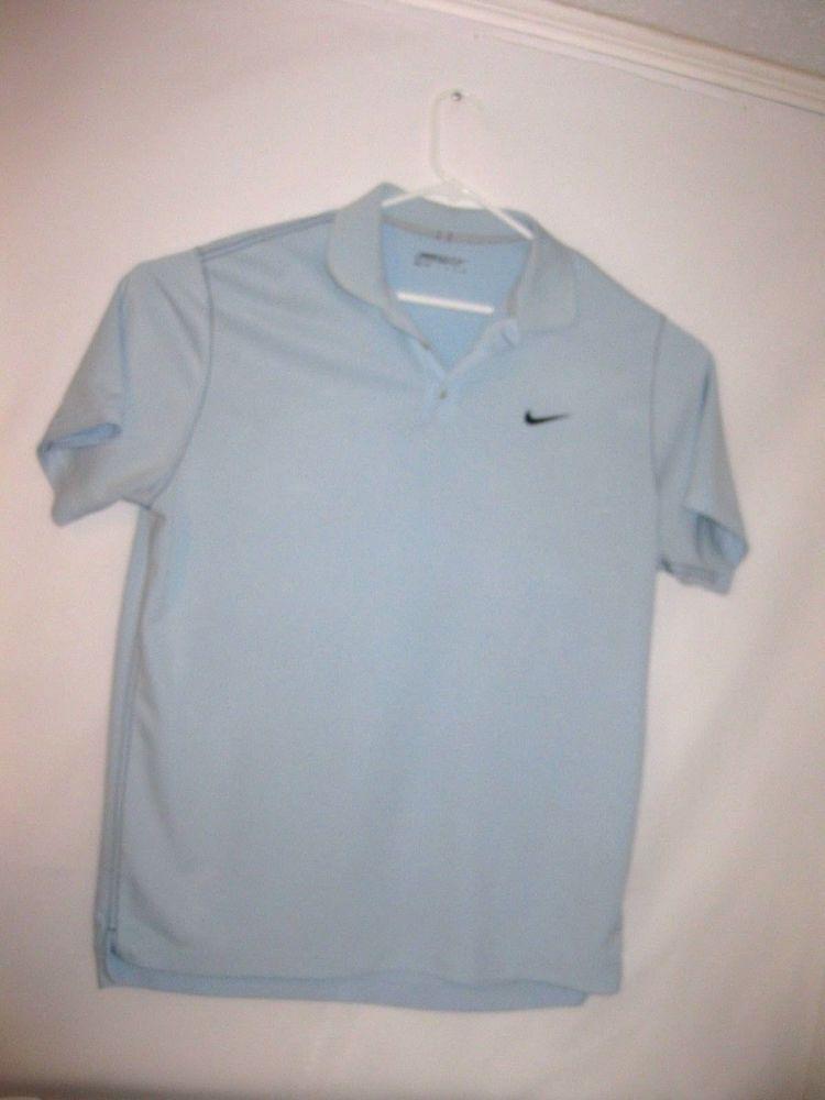 3671ebaed Nike Golf Polo Mens 2XL DriFit Short Sleeve w/Nike Logo3 Button Frt. Polyester