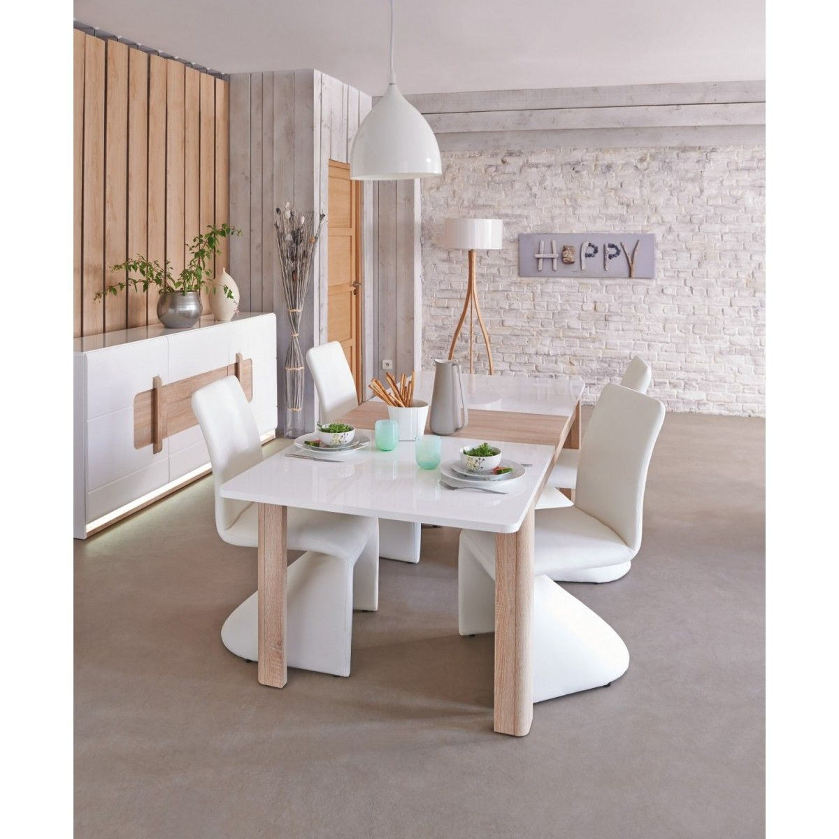 Mesa extensible montreal ideas comedor pinterest for Mesas comedor conforama