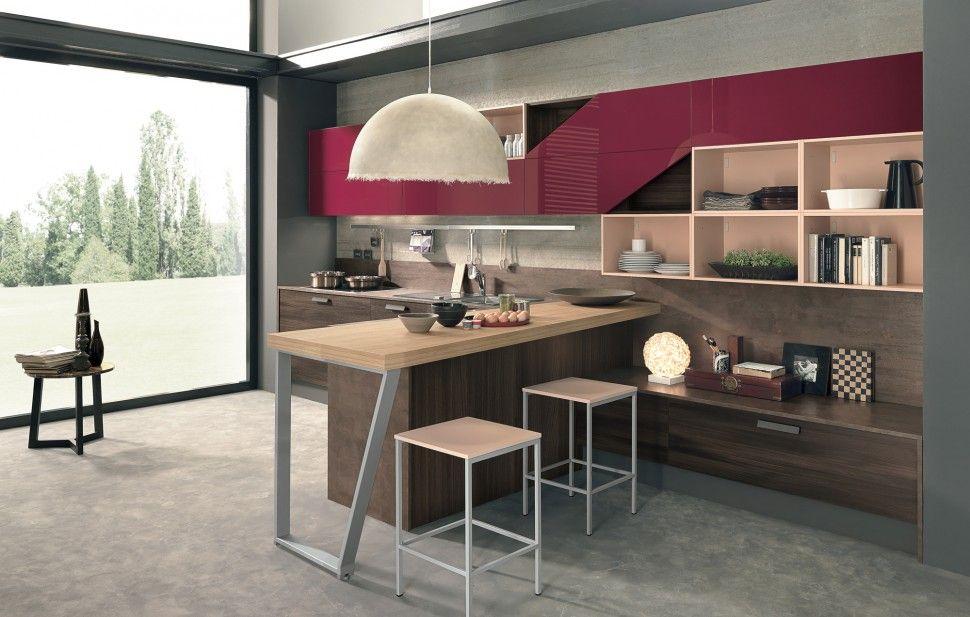 Colombini Lungomare konyhabútor modern kitchen furniture ...