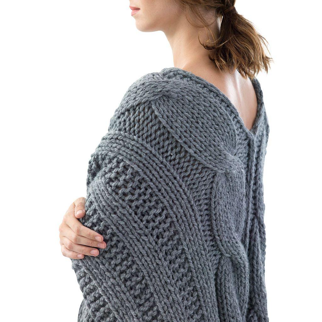 Lion brand® thick & quick® bonus bundle ridgefield knit ...