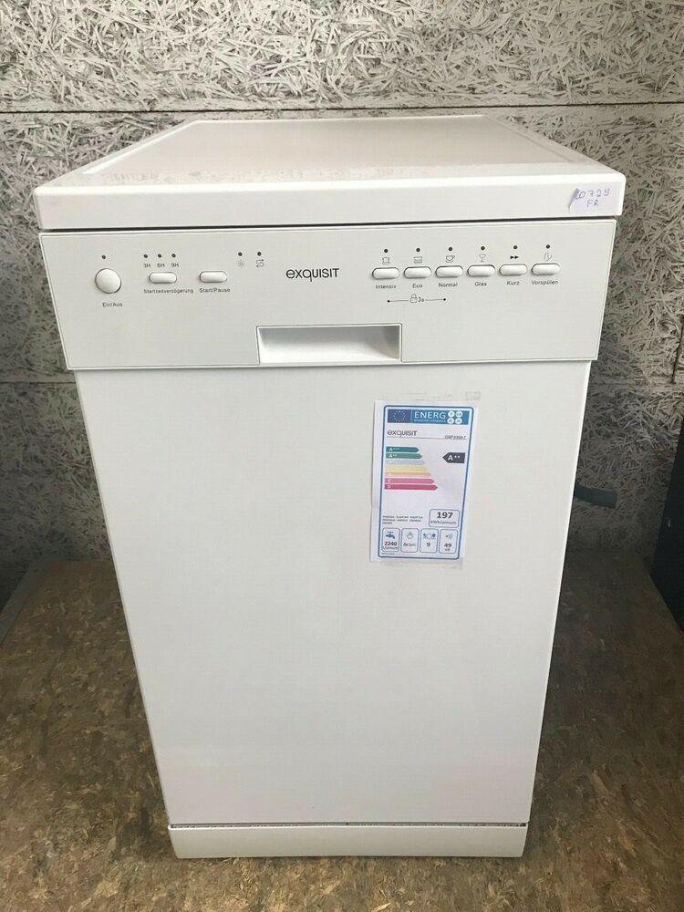 eBay Sponsored Exquisit GSP33097 Spülmaschine Weiß 45cm