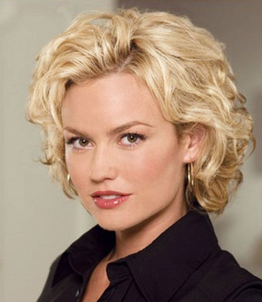 Image Result For Short Curly Hairstyles For Women Blonde Hair
