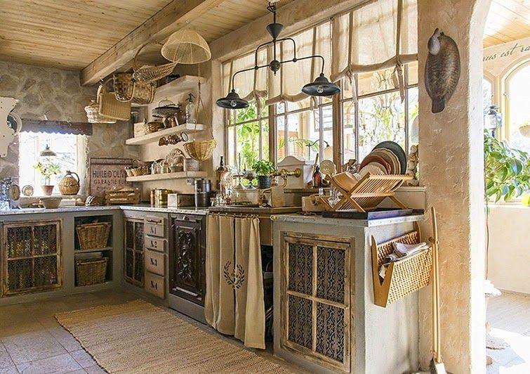 Una casa de estilo r stico llena de paz decoraci n - Decoracion casas americanas ...