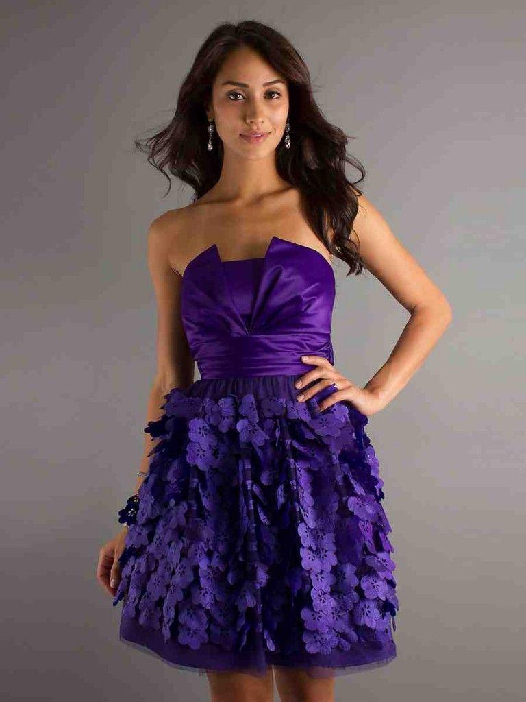 Purple Junior Bridesmaid Dresses | Purple Bridesmaid Dresses ...