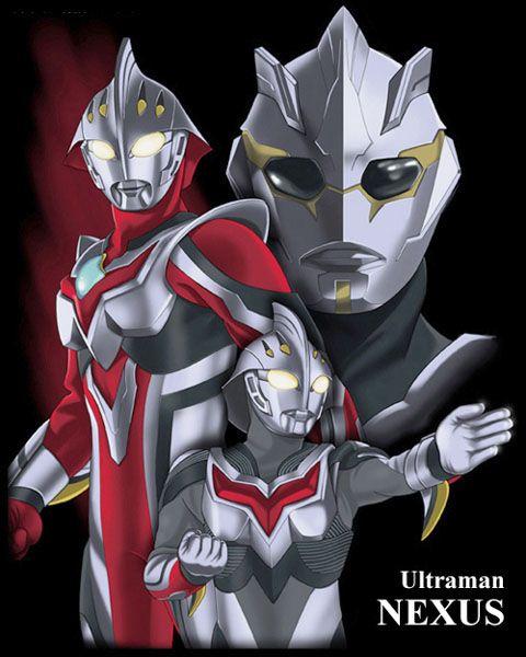 Ultraman Nexus By Browntabby On Deviantart Nexus Kaiju Art Kaiju