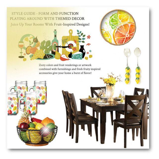 Fruit Inspired Kitchen Decor\