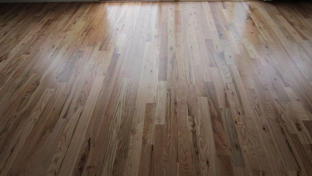 2 Red Oak With 1 Coat Sealer And 2 Coats Semi Gloss Oil Poly White Oak Hardwood Floors Oak Hardwood Red Oak