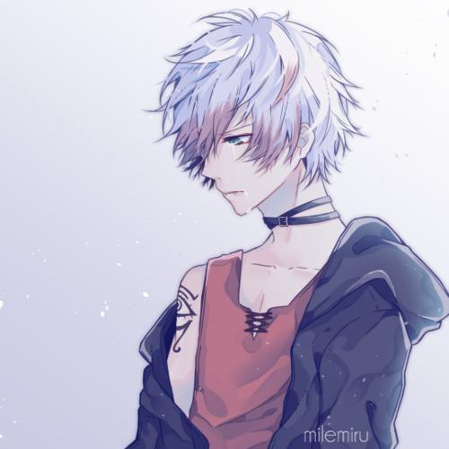 Mystic messenger choi saeran unknown otome game - Anime gamer boy ...